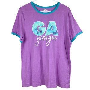 NWOT Women's Georgia Graphic T-shirt
